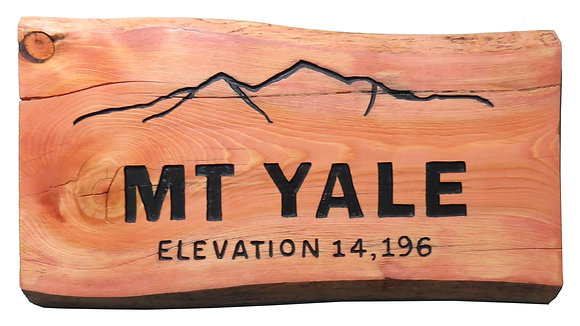 Mt. Yale and Mountains