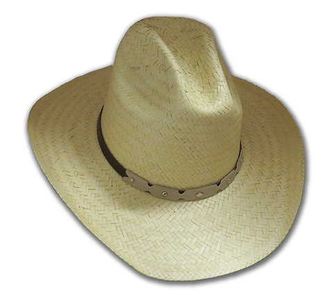 Cowboy Hat - Light Straw