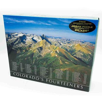 Colorado 14'ers Jigsaw Puzzle