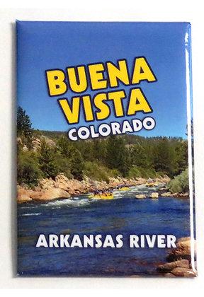 Rafting the Arkansas River Magnet