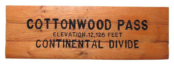 Cottonwood Pass Continental Divide