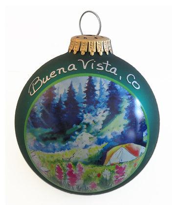 Tent Camping Christmas Ornament - Buena Vista