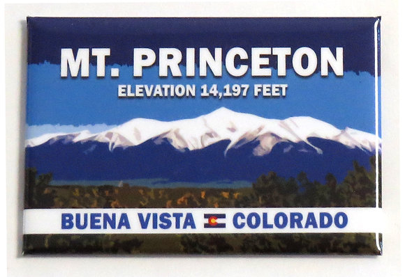 Mt. Princeton Magnet