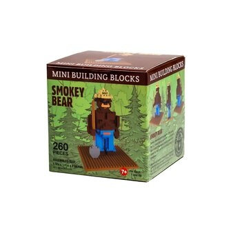 Smokey Bear - Mini Building Blocks