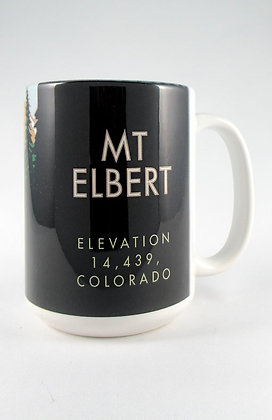 Mt. Elbert Coffee Mug