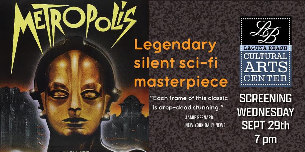 LBCAC Arthouse Theatre Presents: Fritz Lang's Metropolis