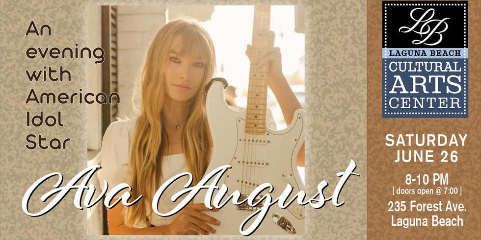 An Evening with American Idol Star Ava August