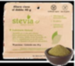 Hojas de Stevia Natural en polvo