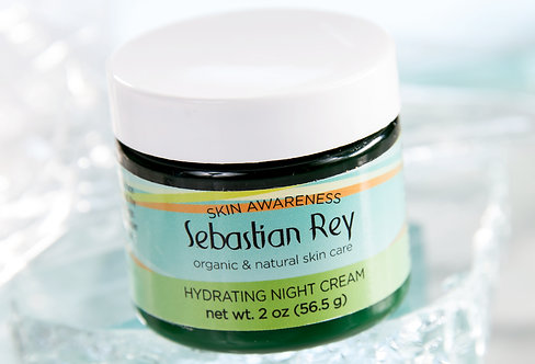 Hydrating Night Cream with Stem Cells