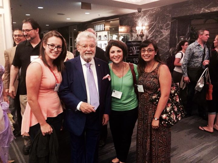 2014 NFA with James Galway!