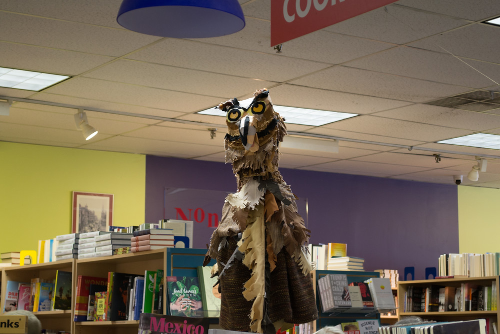 The great horned owl likes poetry too!