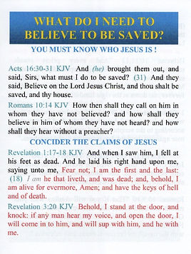 What Do We Need To Believe To Be Saved.j