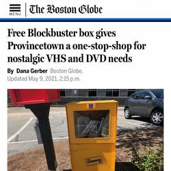 Free Blockbuster Boston Globe