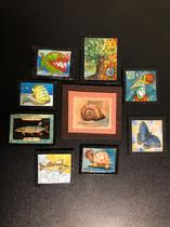 Ashton Wallin's Miniature Art Collection