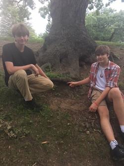 Joe & Jeffrey Find Hidden Art!