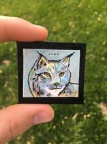 Miniature Lynx Art has been found