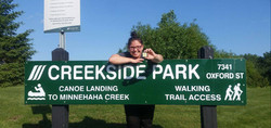 Lidia Ketola at Creekside Park