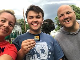 Ashton, Nichol & Scott find hidden ar at Edgebrook Park