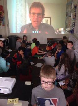 Skype with children's author