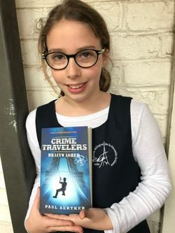 Boys and girls love Crime Travelers book series