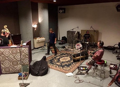 Ultra Kings recording session