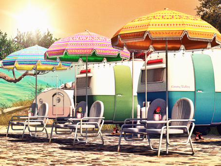 Exploring Summer Sims In Second Life