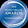 Wines of Brazil Awards Commended 2020.pn