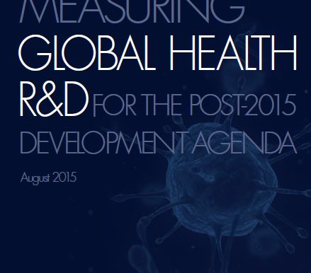 New Report Says SDGs Must Include R&D for Global Health