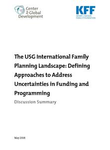 © Center for Global Development and Henry J Kaiser Family Foundation