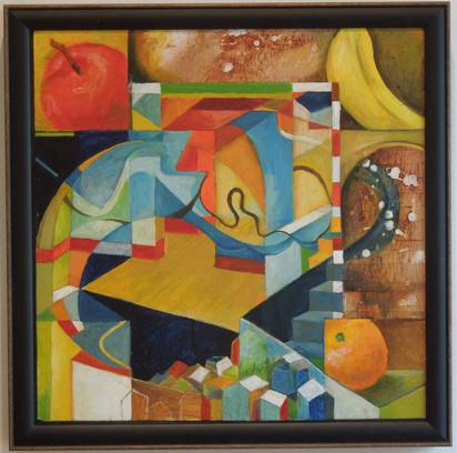 Apple Banana and Orange