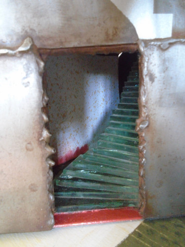 Leap Of Faith House, entrance stairway.j