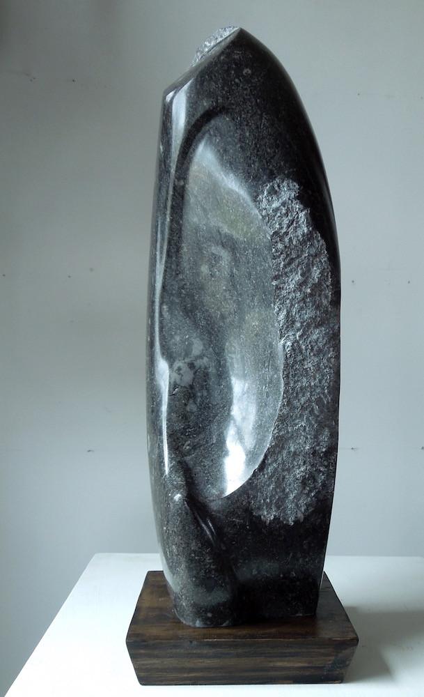 Black Stone, Homage to Isamu Noguchi.jpe