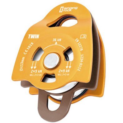 Singing Rock Pulley Twin