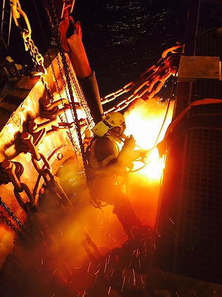 Rope Access welding