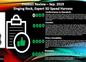 Singing Rock, Expert 3D, Harness Review Sep. 2019