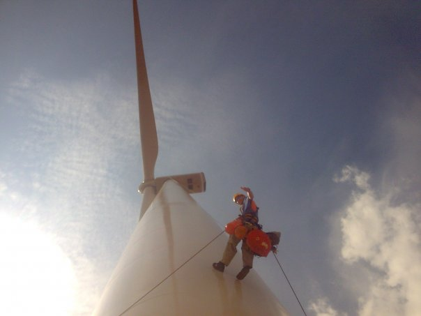 Rope Access Renewable sector