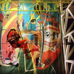 Perth rope access training  mural