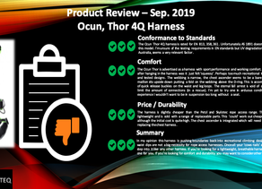 Ocun , Thor 4Q, Harness Review Sep. 2019
