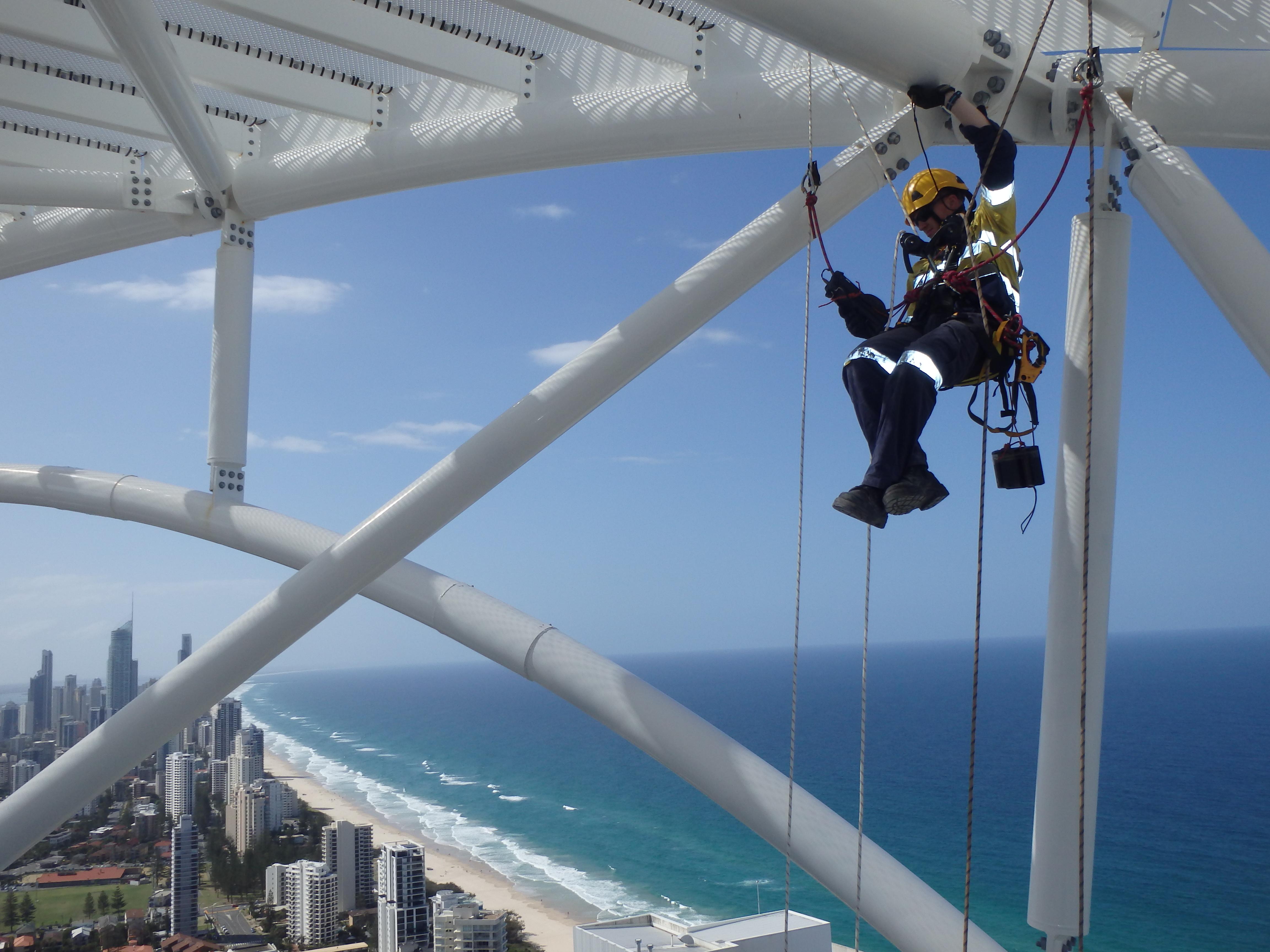 Rope Access Non Destructive Testing