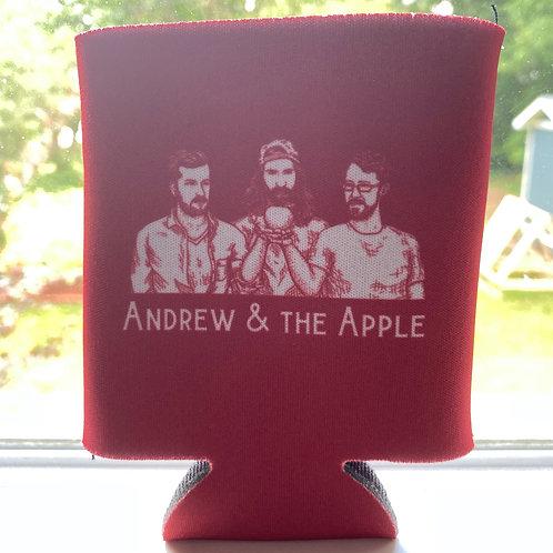 Andrew & the Apple Koozie