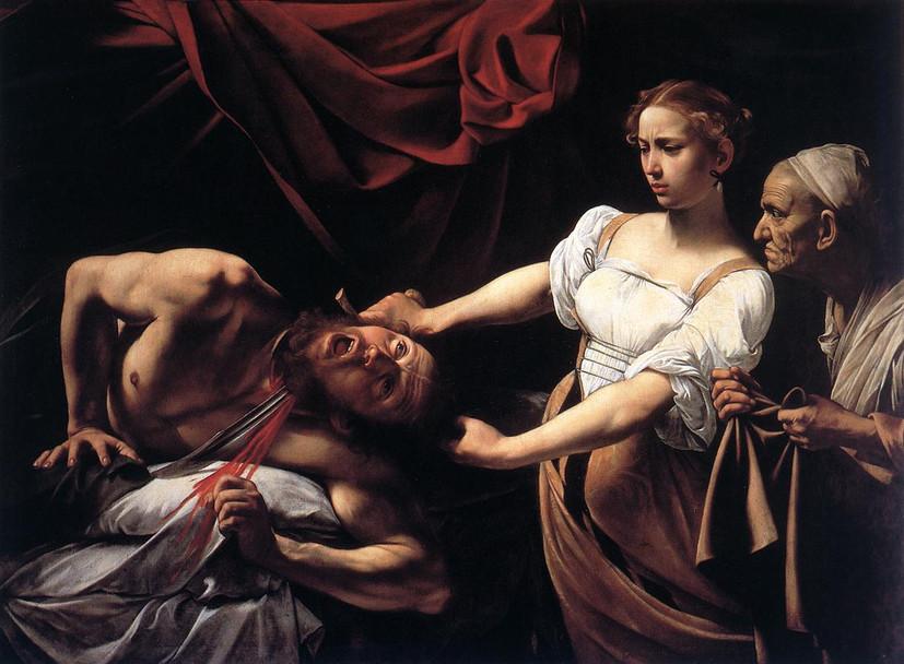 Judith Beheading Holofernes, Galleria Na