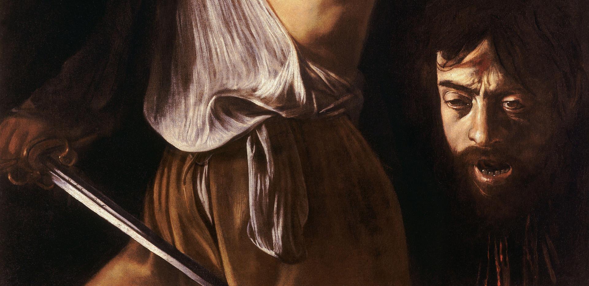 David with the Head of Goliath, Galleria