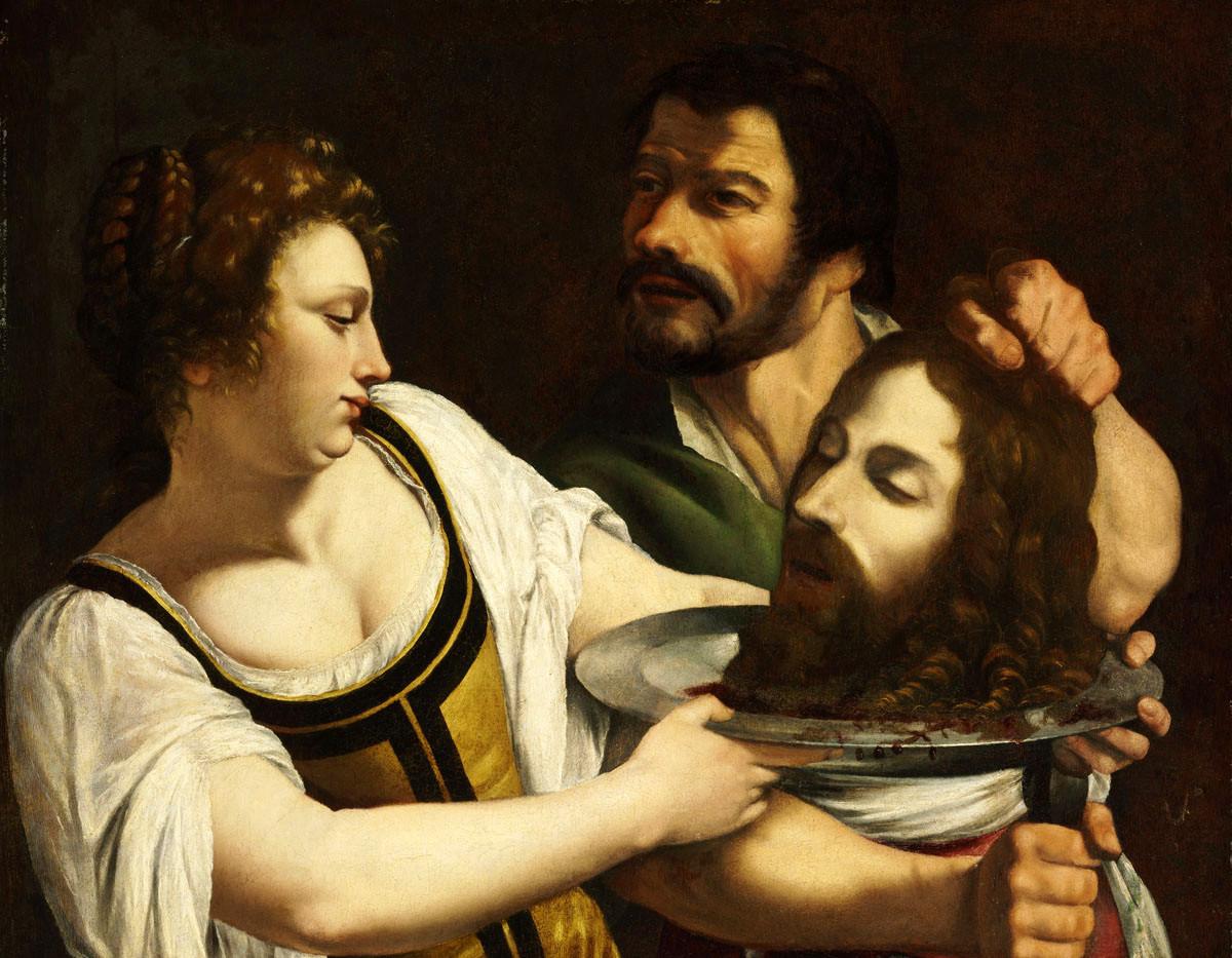 Salome with the Head of Saint John the B