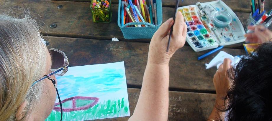 L'art-thérapie pour les personnes âgées