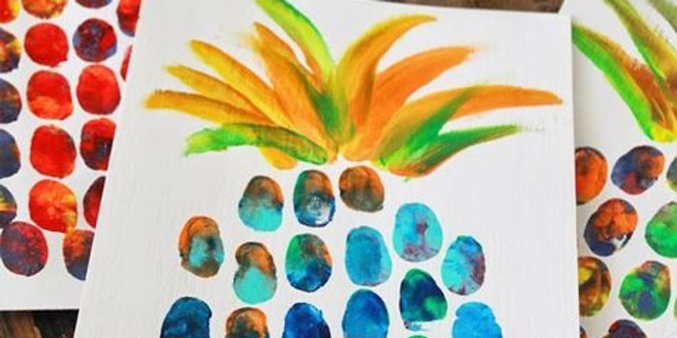 Méditer avec une coupe de fruits et une pointe de créativité