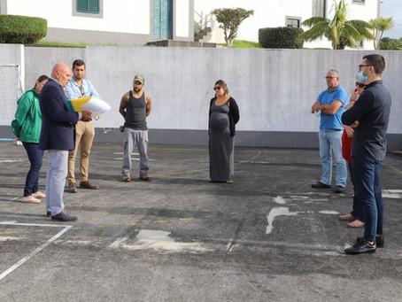 Município da Horta apoia a Instalação de Polidesportivo no Capelo