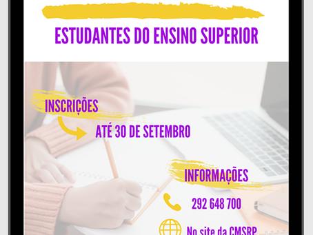 Candidatura à Bolsa de Estudos da Câmara de São Roque do Pico termina hoje