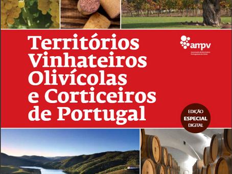 Vinha e o enoturismo do Pico presente no livro da Assoc. de Municípios Portugueses do Vinho