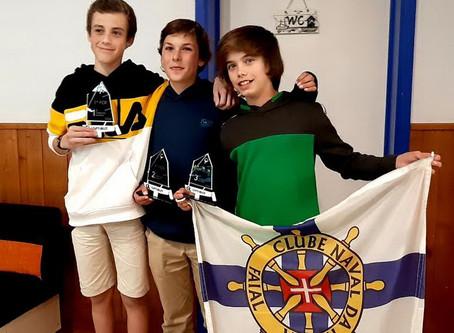 Velejadores do CNH alcançam dois terceiros lugares na 1ª Prova do Campeonato Regional