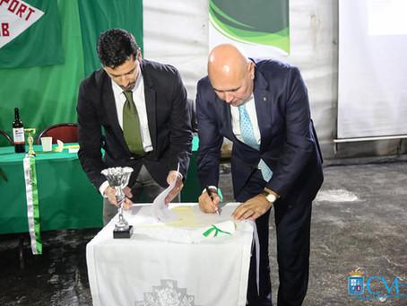 Em dia de aniversário, Fayal Sport assina protocolo de cooperação com Câmara Municipal da Horta
